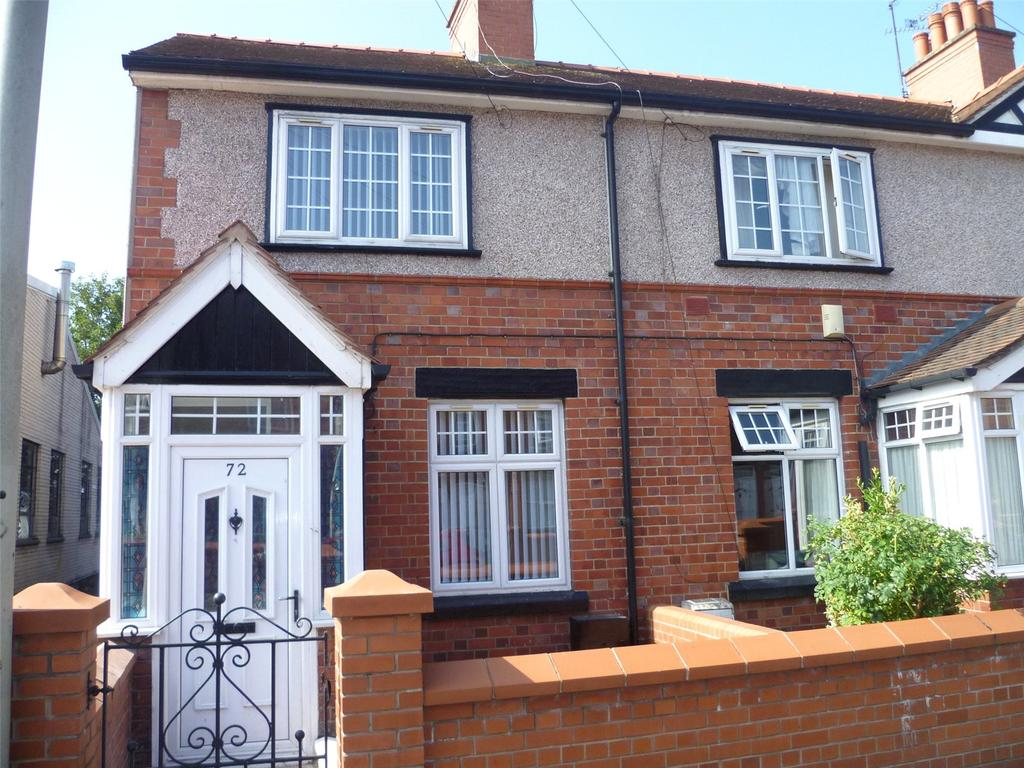 2 Bedrooms End Of Terrace House for sale in Smithfield Road, Wrexham, LL13