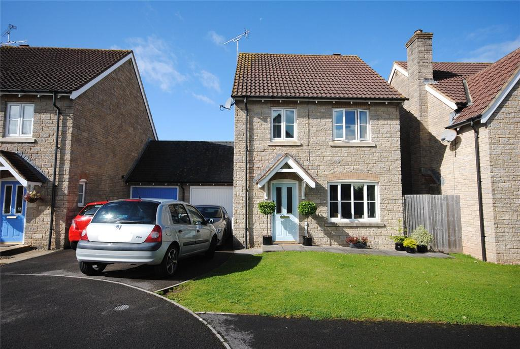 3 Bedrooms Detached House for sale in Mead Close, CHEDDAR, Somerset, BS27