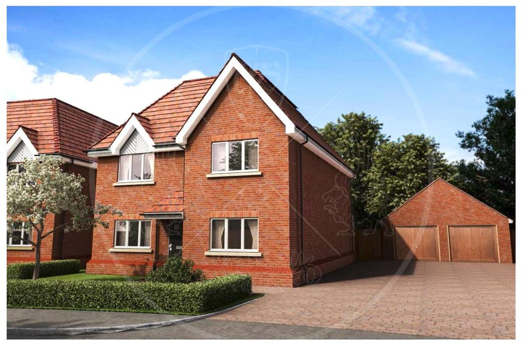 5 Bedrooms Detached House for sale in Plot 2, Burghfield Common, Reading, Berkshire, RG7