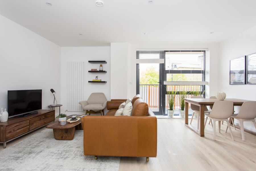 2 Bedrooms Apartment Flat for sale in Penthouse 402 Bow Collection