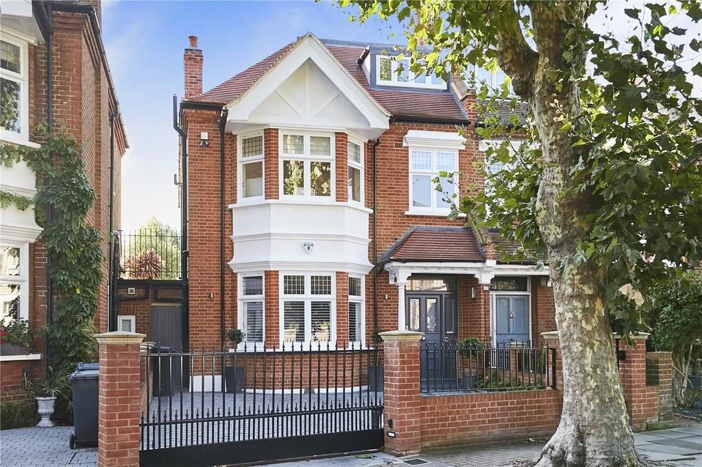 5 Bedrooms Semi Detached House for sale in Howards Lane, London, SW15