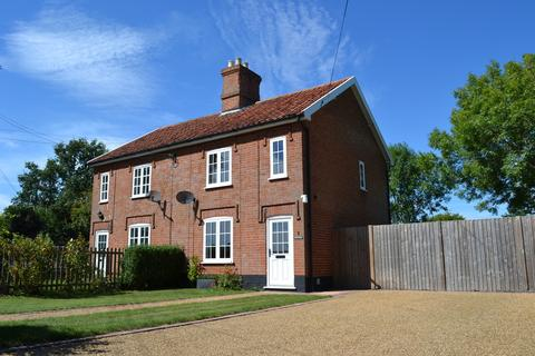 2 bedroom semi-detached house to rent - Wilby, Nr Eye