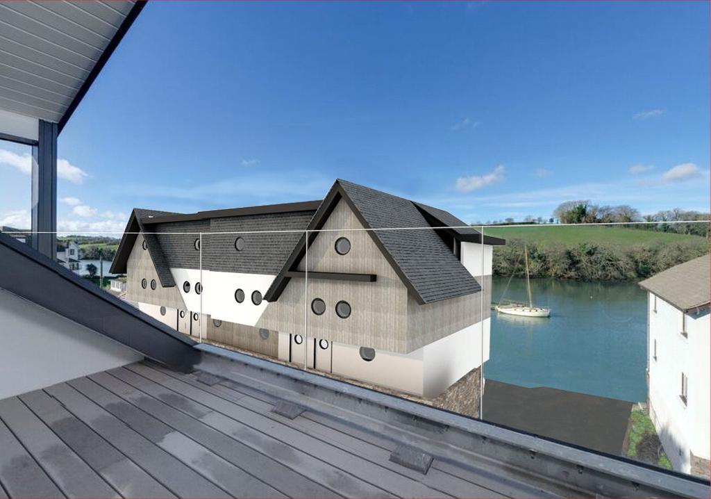 3 Bedrooms Terraced House for sale in Embankment Road, Kingsbridge, Devon