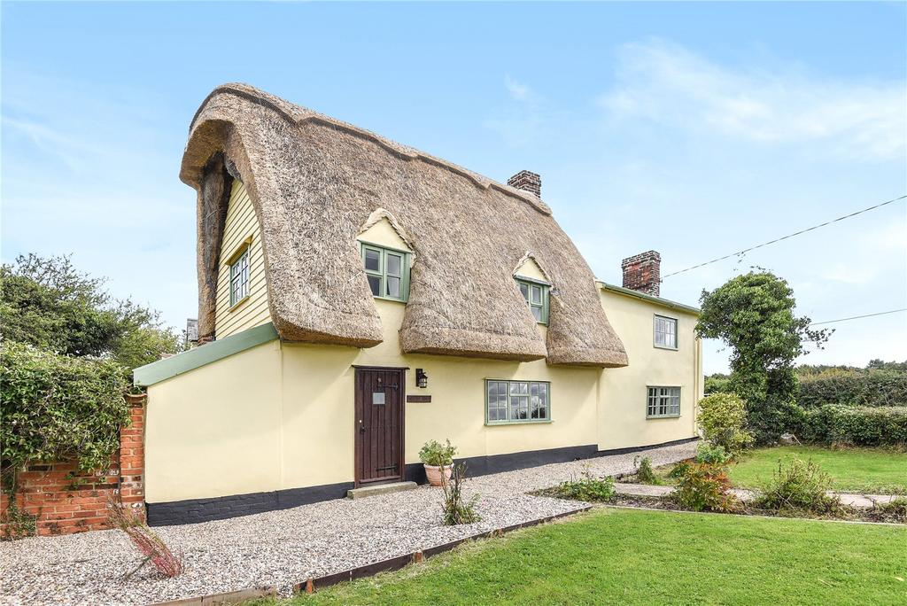3 Bedrooms Detached House for sale in The Green, Little Thurlow, Suffolk, CB9