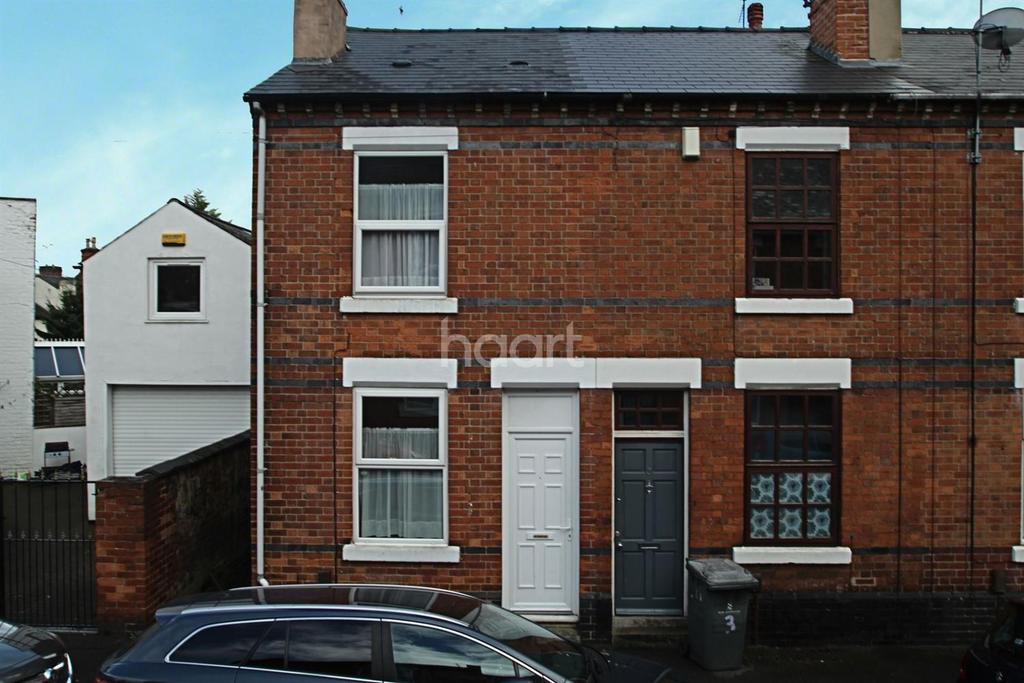 2 Bedrooms End Of Terrace House for sale in Cross Street, Derby