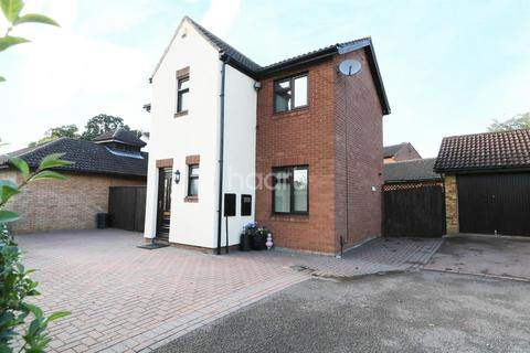 3 bedroom detached house for sale - Barn Owl Close, East Hunsbury