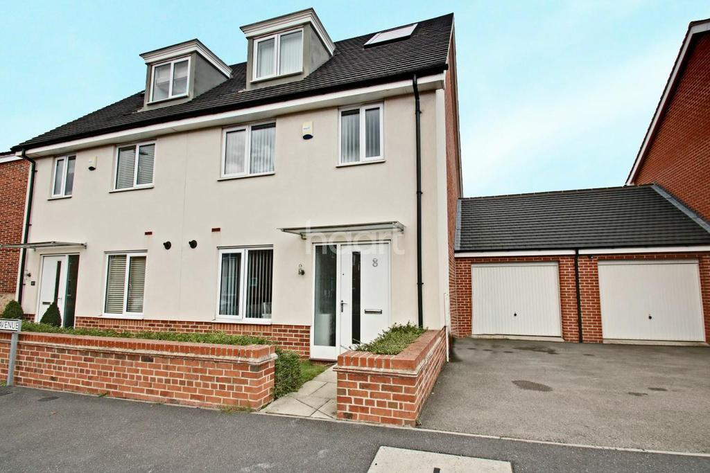 3 Bedrooms Semi Detached House for sale in Kenny Avenue, Wilford, Nottinghamshire