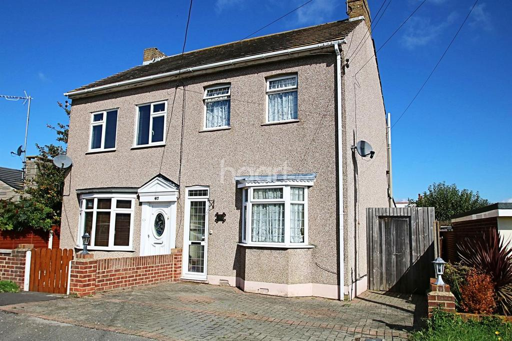 3 Bedrooms Semi Detached House for sale in Darlington Drive, Minster on Sea