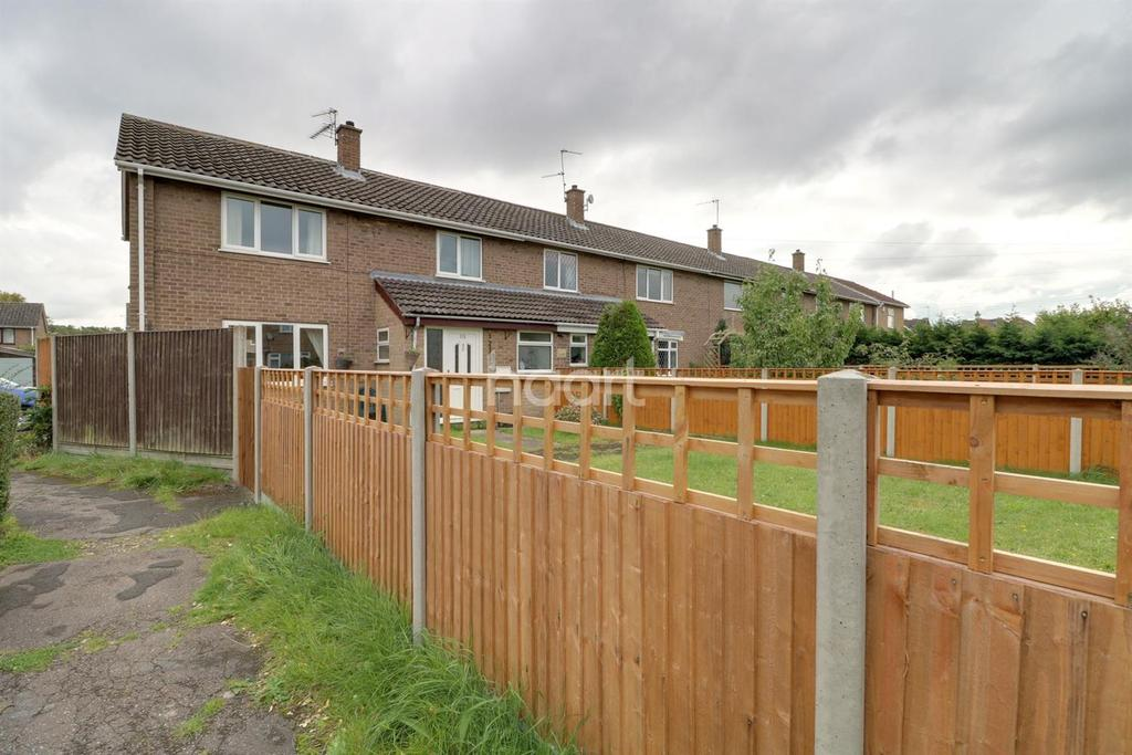 3 Bedrooms End Of Terrace House for sale in Nightingale Crescent, Lincoln
