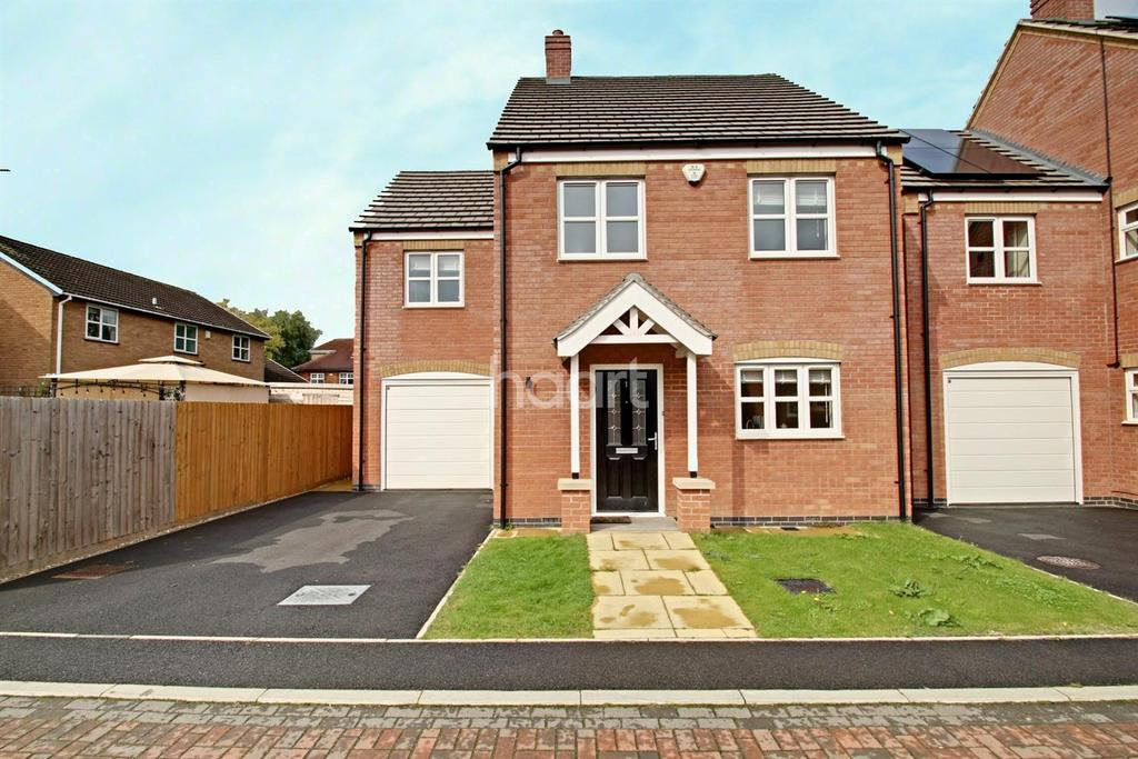 4 Bedrooms Detached House for sale in Langman Close, Leicester Forest East