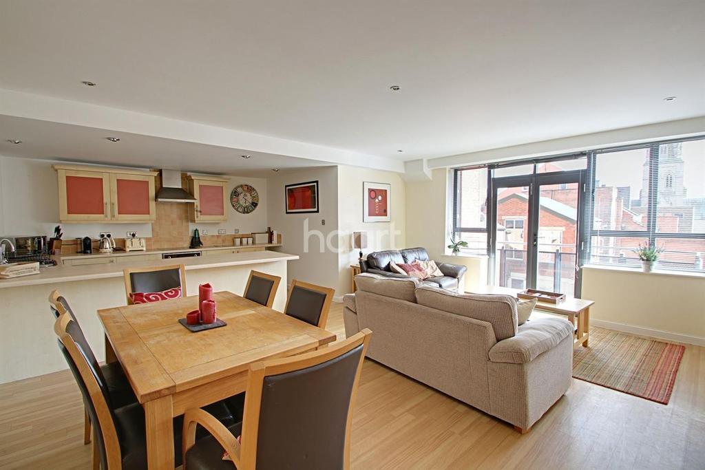 1 Bedroom Flat for sale in Parkgate, Upper College Street