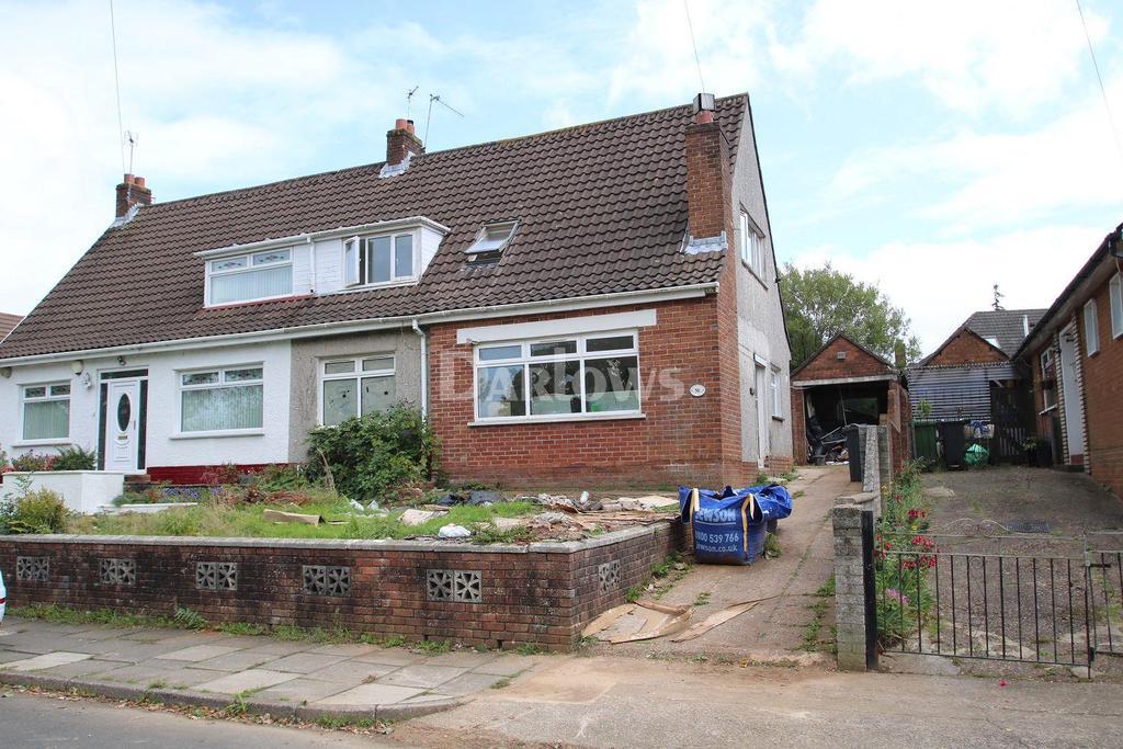 3 Bedrooms Semi Detached House for sale in Lynton Terrace, Llanrumney, Cardiff