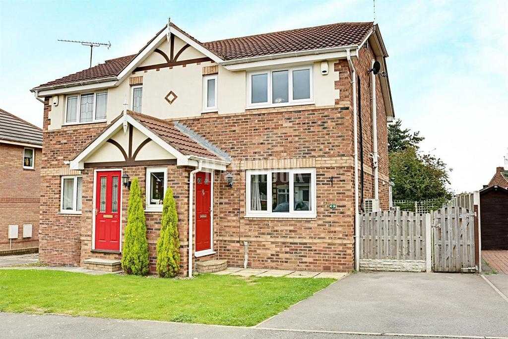 3 Bedrooms Semi Detached House for sale in Olivers Way, Catcliffe