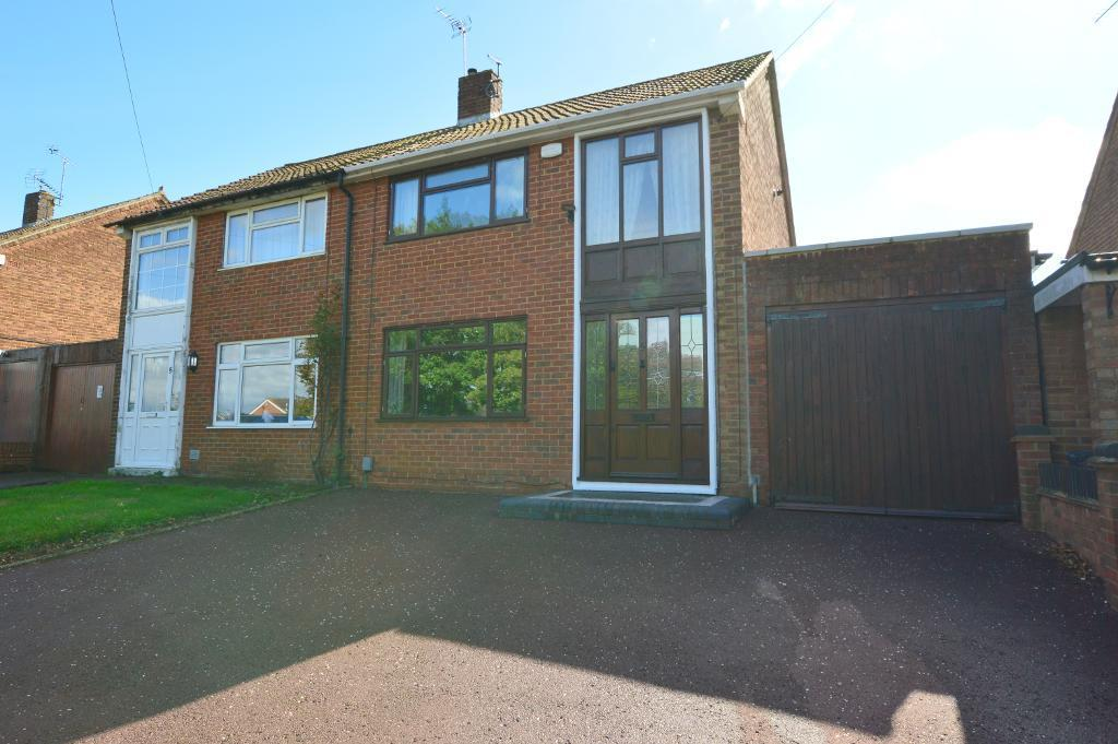 3 Bedrooms Semi Detached House for sale in Fermor Crescent, Vauxhall Park, Luton, LU2 9HT