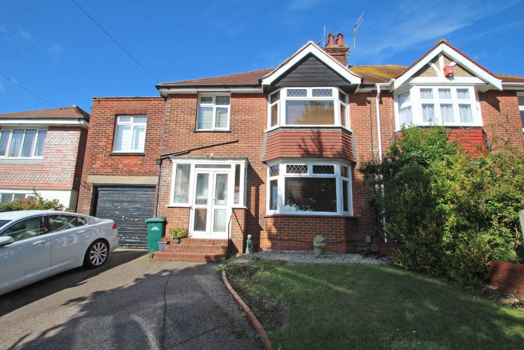 4 Bedrooms Semi Detached House for sale in Benfield Way, Portslade, East Sussex, BN41 2DA