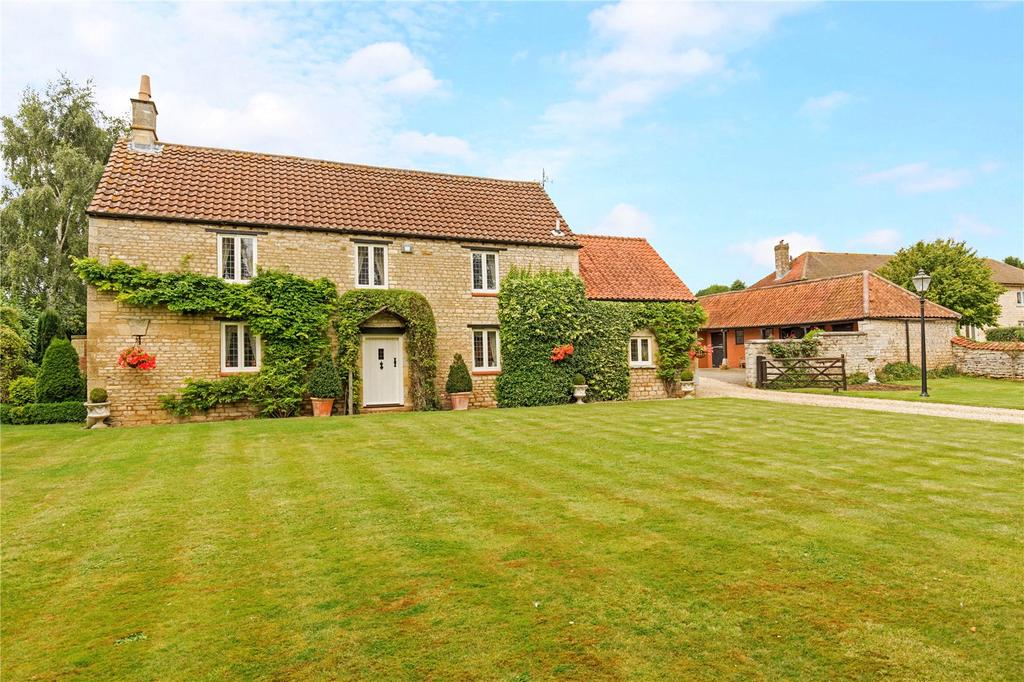 4 Bedrooms Unique Property for sale in Wood Farm, Bulby, Bourne, Lincolnshire, PE10