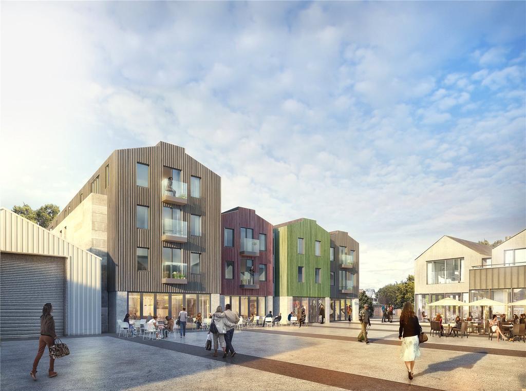 2 Bedrooms Flat for sale in Deben Wharf, Quayside, Woodbridge, Suffolk, IP12
