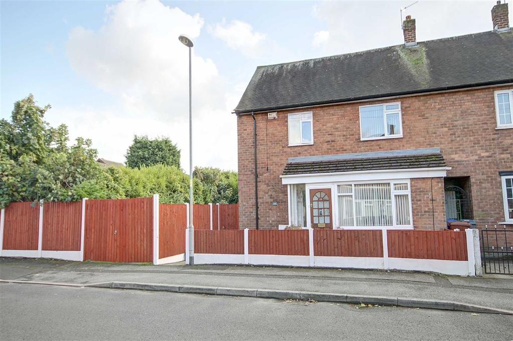 3 Bedrooms End Of Terrace House for sale in Gateacre Walk, Baguley, Manchester