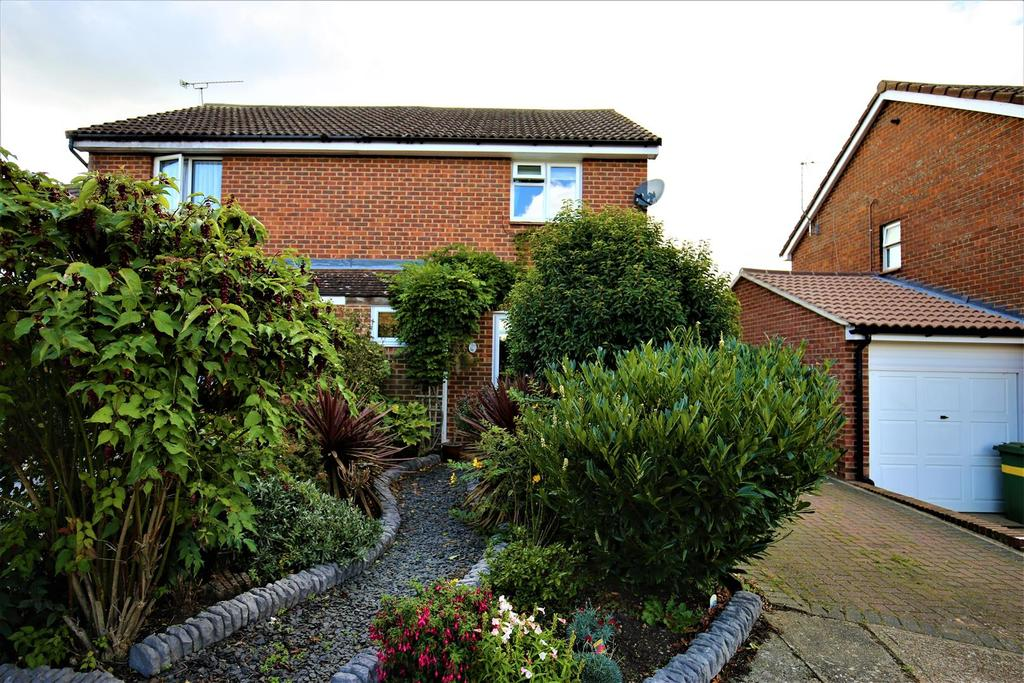 3 Bedrooms Semi Detached House for sale in Linden Road, Coxheath, Maidstone