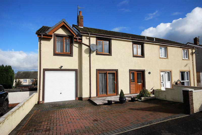 4 Bedrooms Semi-detached Villa House for sale in 35 Kirkmichael Road, Crosshill, KA19 7RJ
