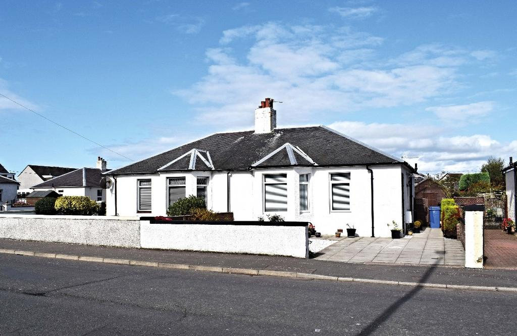 2 Bedrooms Semi Detached Bungalow for sale in Heathfield Road, Ayr, South Ayrshire, KA8 9DT