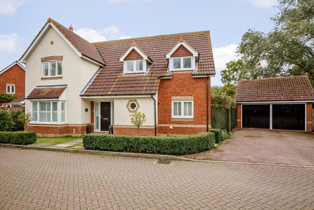 5 Bedrooms Detached House for sale in Homefield, HINXWORTH, SG7