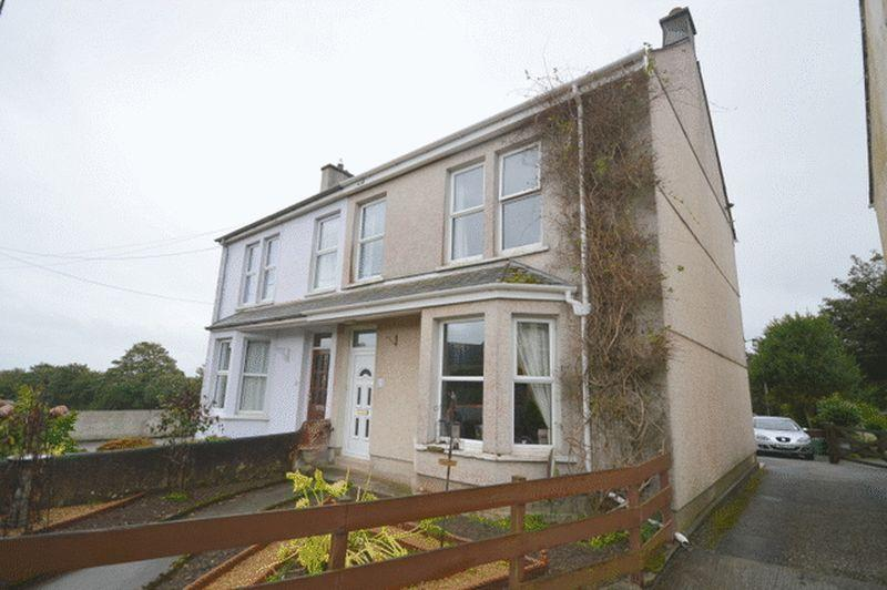 3 Bedrooms Semi Detached House for sale in St Mewan Lane, St. Austell