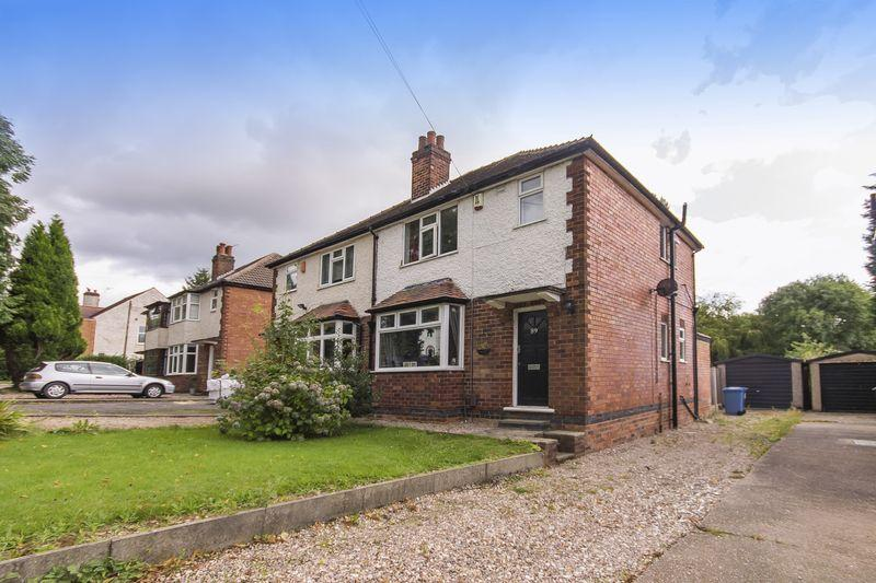 3 Bedrooms Semi Detached House for sale in Allestree Lane, Allestree