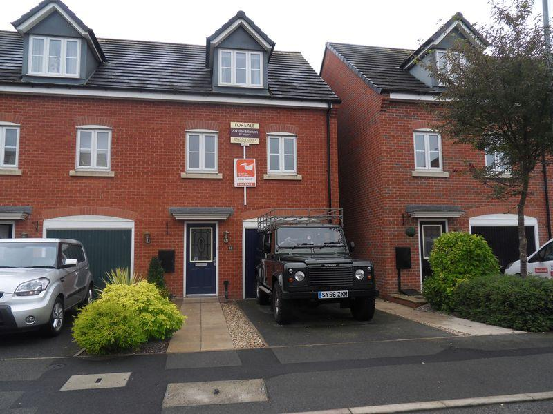 3 Bedrooms Terraced House for sale in George Smith Drive, Coalville