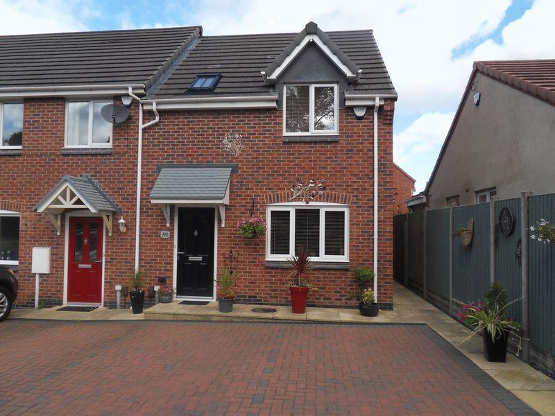 3 Bedrooms End Of Terrace House for sale in Leicester Road, Ibstock