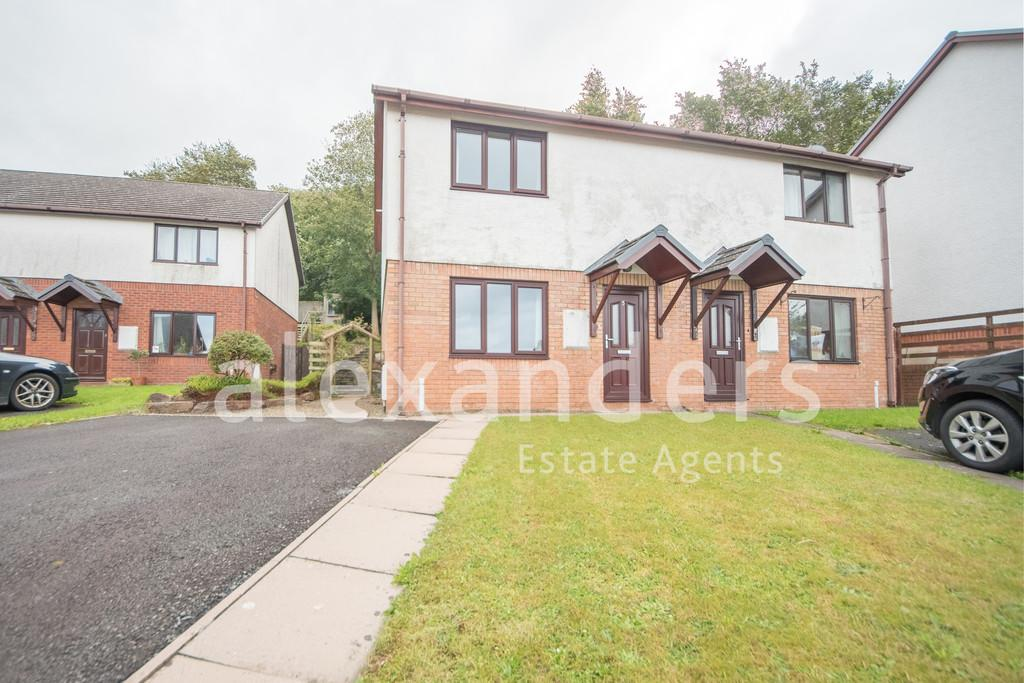 2 Bedrooms Semi Detached House for sale in Maes Crugiau, Rhydyfelin