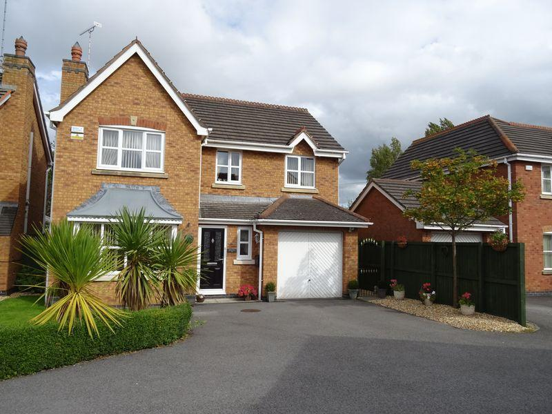 4 Bedrooms Detached House for sale in Avondale Crescent, Wrexham