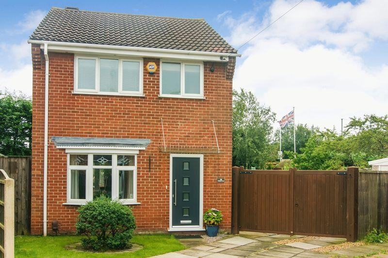 3 Bedrooms Detached House for sale in Willow Road, New Balderton
