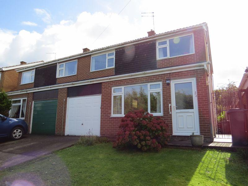 3 Bedrooms Semi Detached House for sale in Christchurch Drive, Bayston Hill, Shrewsbury, SY3 0PT