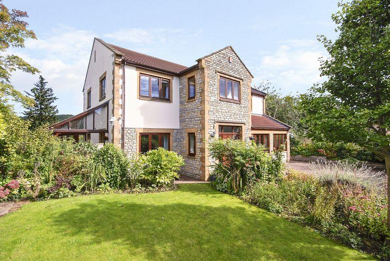 4 Bedrooms Detached House for sale in North Wootton - Between Wells and Glastonbury.