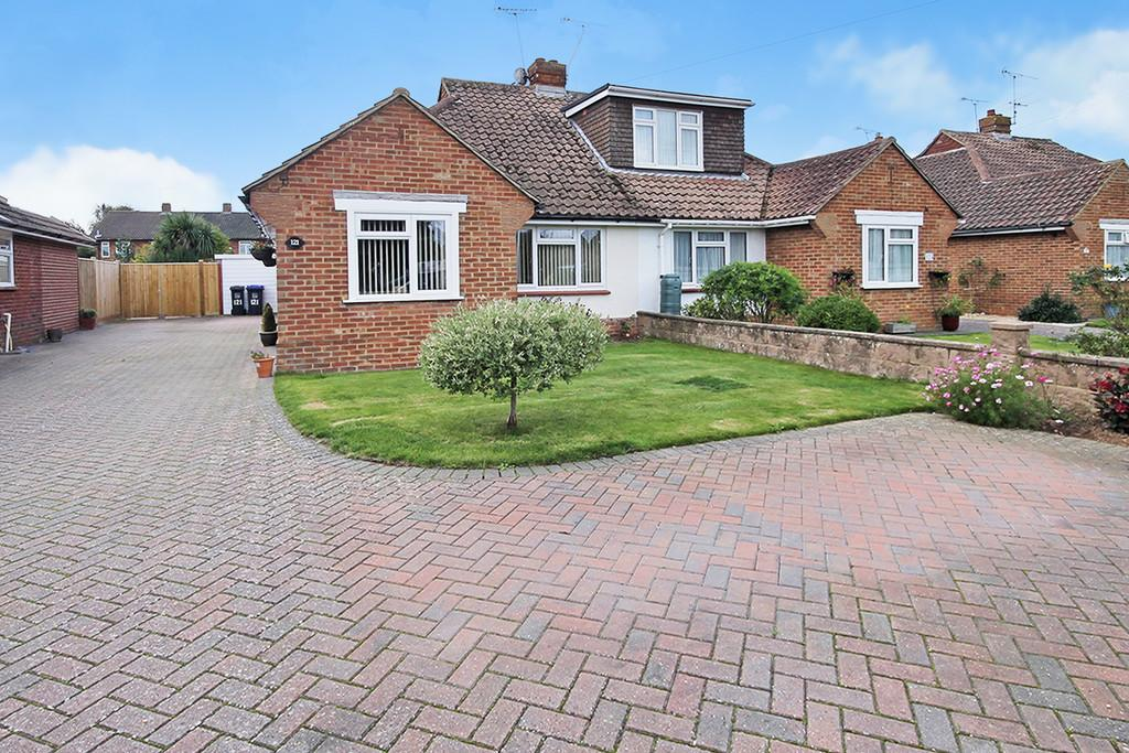 2 Bedrooms Semi Detached Bungalow for sale in Palatine Road, Goring-by-sea BN12 6JR