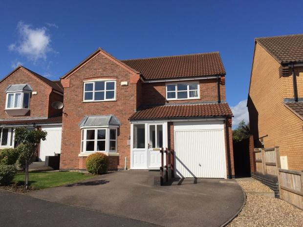 4 Bedrooms Detached House for sale in Cowslip Drive, Melton Mowbray, LE13