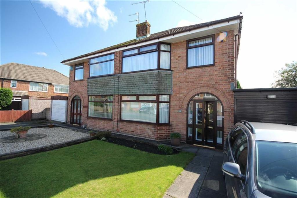3 Bedrooms Semi Detached House for sale in Sandfield Road, Eccleston, St Helens, WA10