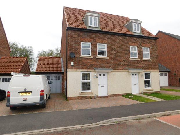 3 Bedrooms Semi Detached House for sale in PROSPECT PLACE, COXHOE, DURHAM CITY : VILLAGES EAST OF