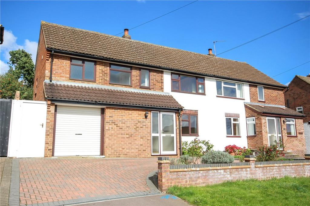 4 Bedrooms Semi Detached House for sale in Churchfield, Harpenden, Hertfordshire