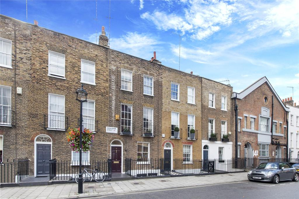 3 Bedrooms Terraced House for sale in Shouldham Street, London