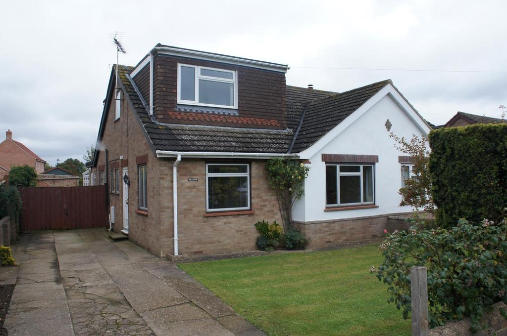 4 Bedrooms Semi Detached House for sale in Hill View, Lodge Road, Cranfield
