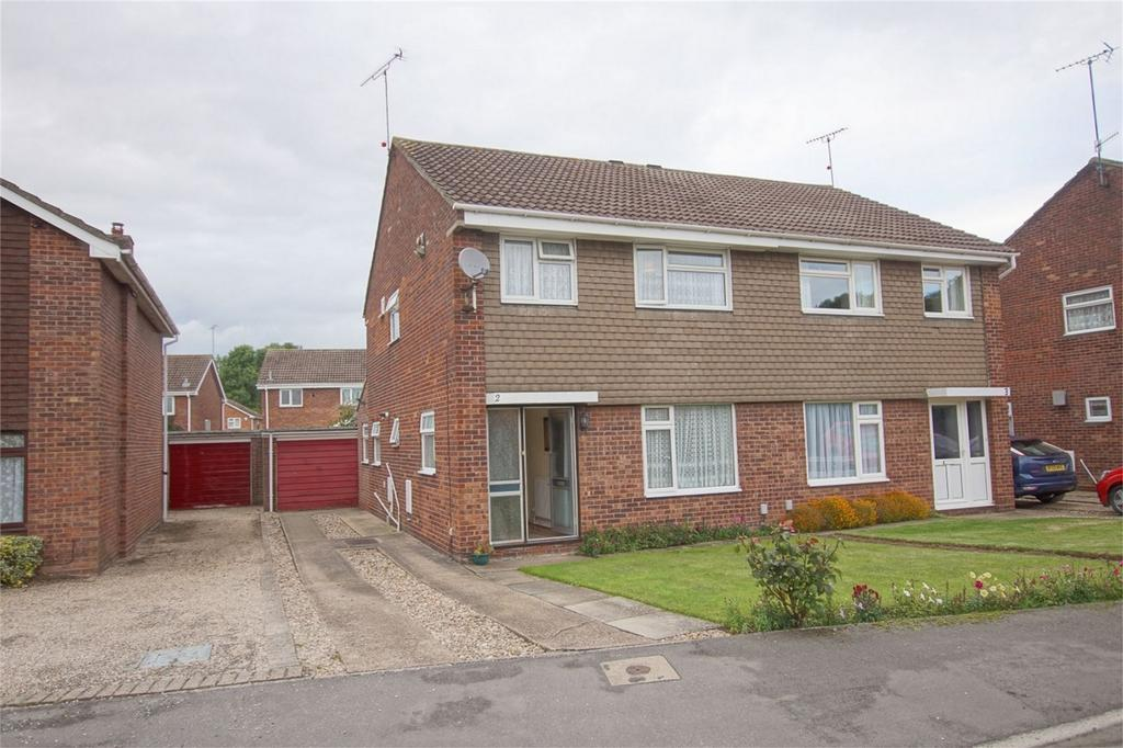 3 Bedrooms Semi Detached House for sale in Richardson Close, Woodloes Park, Warwick