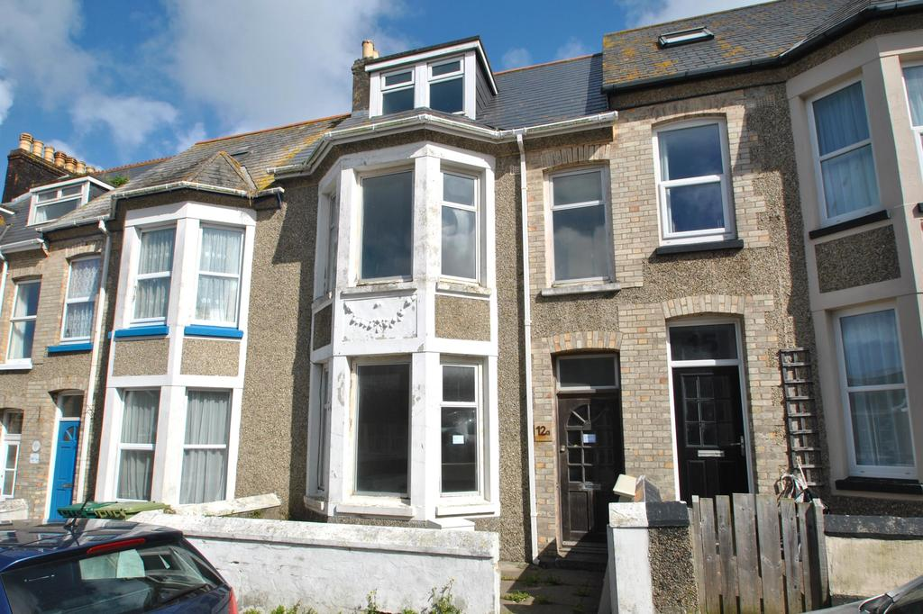 4 Bedrooms Terraced House for sale in Grosvenor Avenue, Newquay