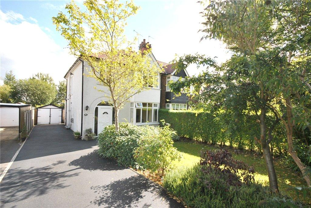 3 Bedrooms Semi Detached House for sale in The Drive, Adel, Leeds, West Yorkshire