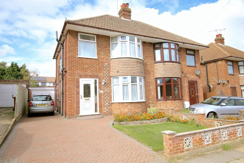 3 Bedrooms Semi Detached House for sale in Ashcroft Road, Ipswich