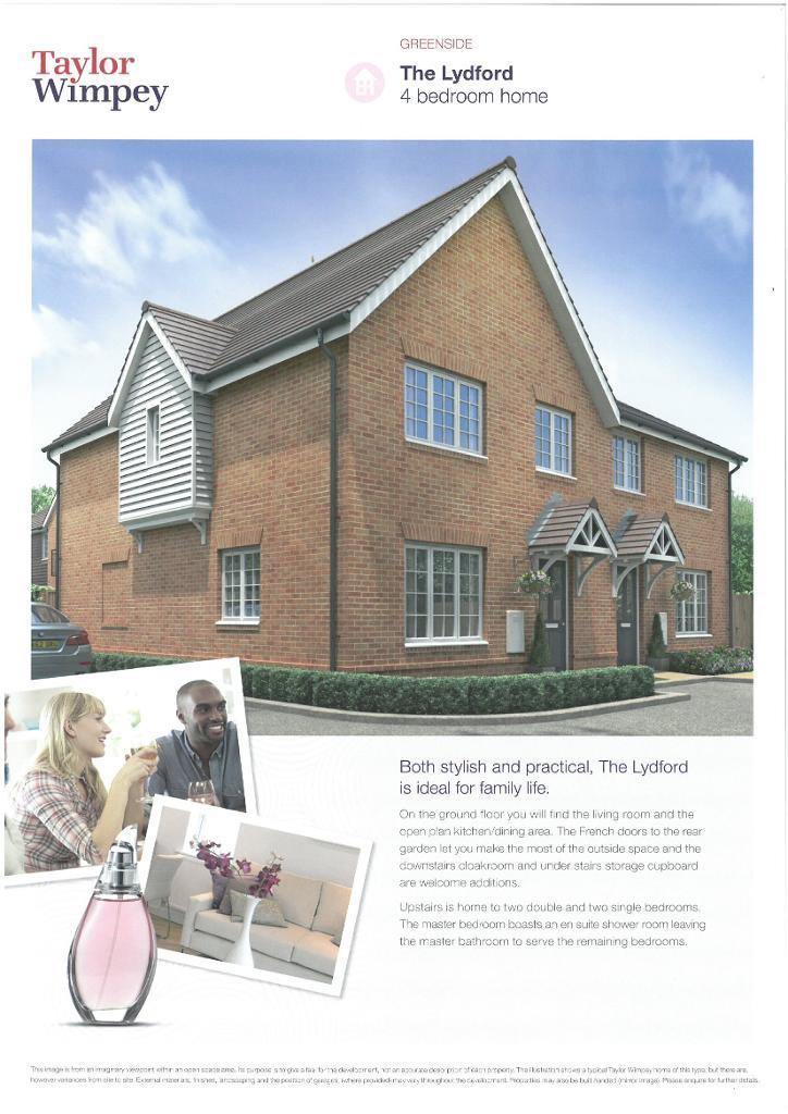 4 Bedrooms Detached House for sale in Plot 14 Greenside, Littlehampton Road, Ferring, West Sussex, BN12 6PN