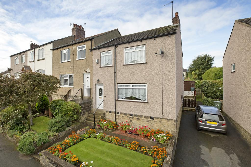 3 Bedrooms End Of Terrace House for sale in Silverdale Avenue, Guiseley