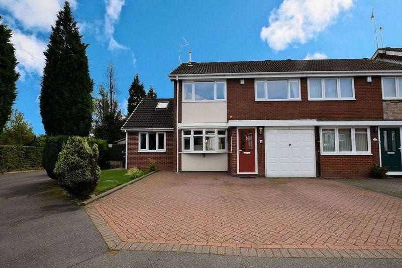 4 Bedrooms End Of Terrace House for sale in Chichester Drive, Quinton
