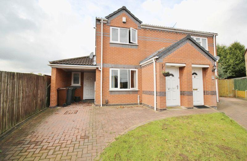 2 Bedrooms Semi Detached House for sale in Lavender Close, Pendeford, Wolverhampton
